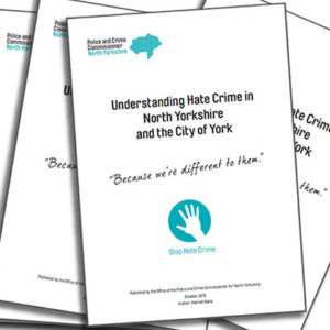 Download the full report: Understanding Hate Crime in North Yorkshire and the City of York