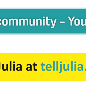 selfie-poster-your-community-your-say-telljuliadotcom