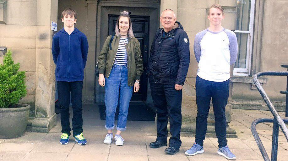 members-dawid-samantha-and-tom-at-northallerton-police-headquarters
