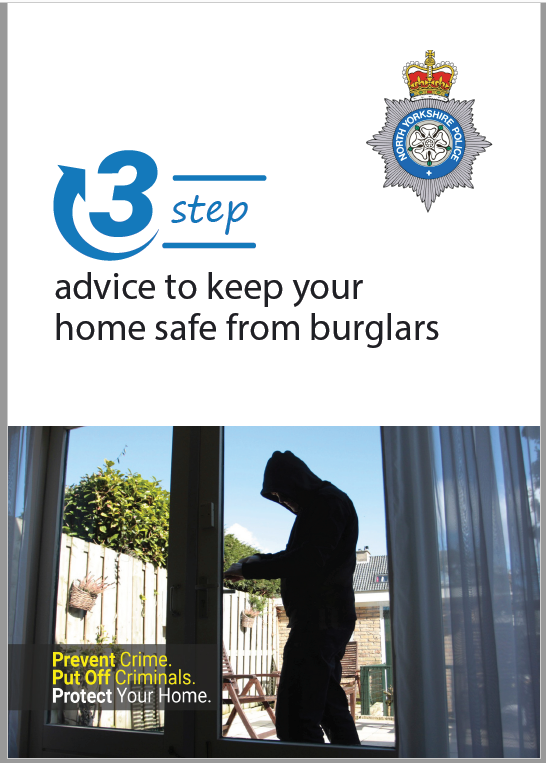 Front cover 3 steps advice to keep your home safe from burglars