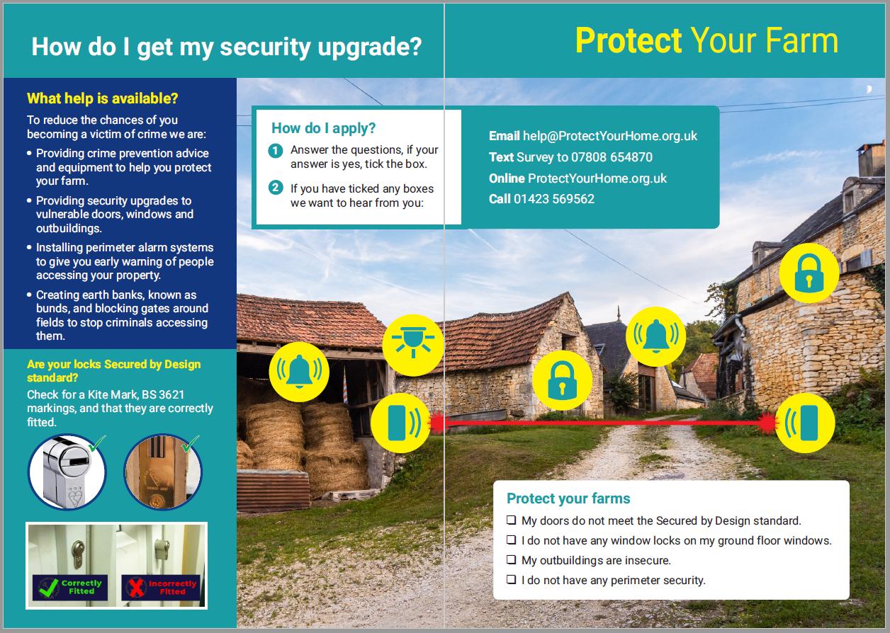Protect your farm leaflet