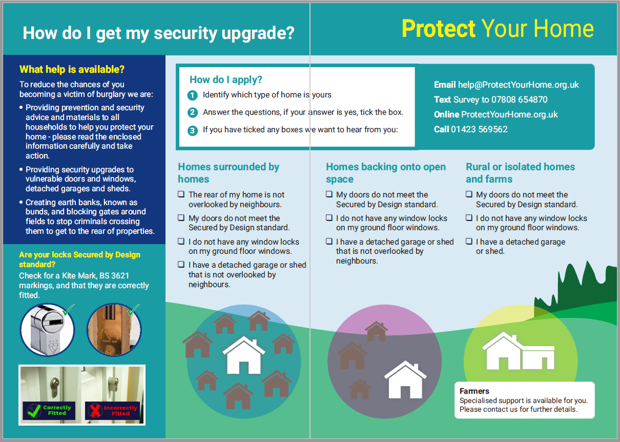 Protect your home leaflet