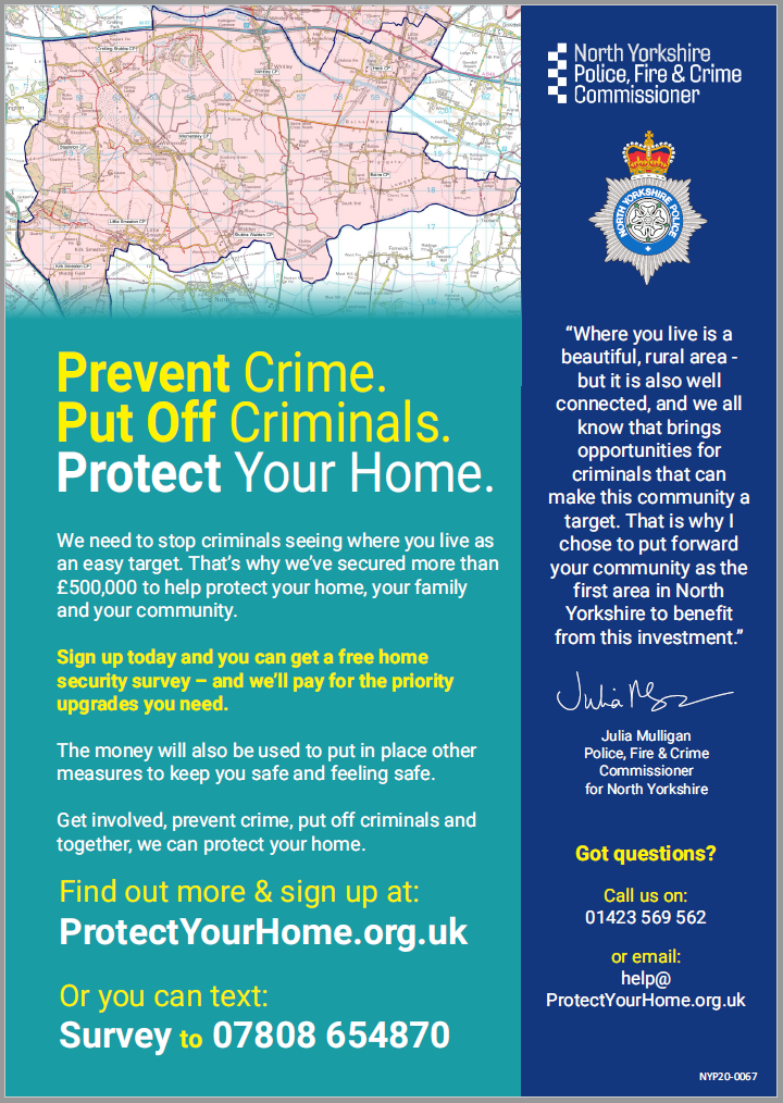 Poster - Protect Your Home