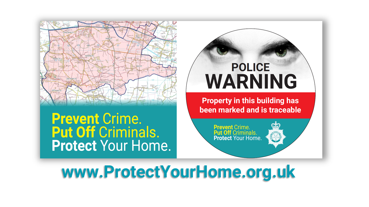 Prevent crime Put off criminals Protect your home
