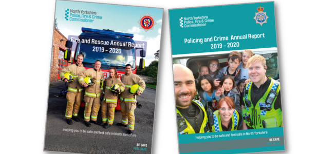 2019-2020 Annual Reports - front covers