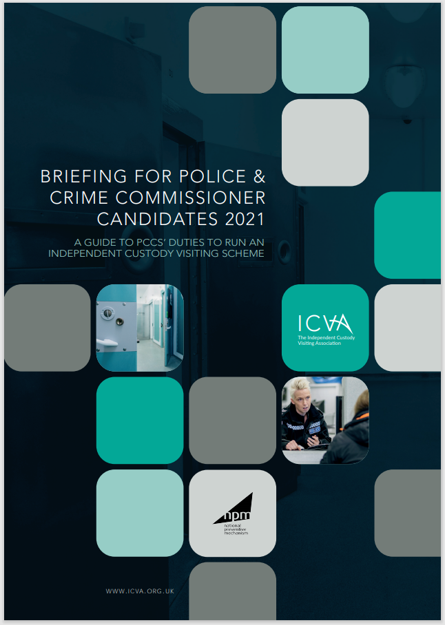 ICVA Briefing for PCC candidates 2021 - front cover